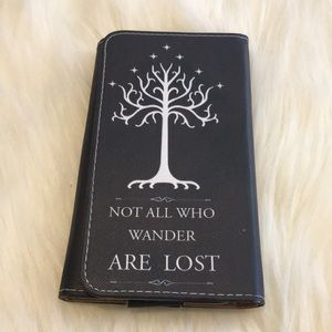 Handbags - ✅ Not All Who Wander Are Lost Wallet Phone Holder